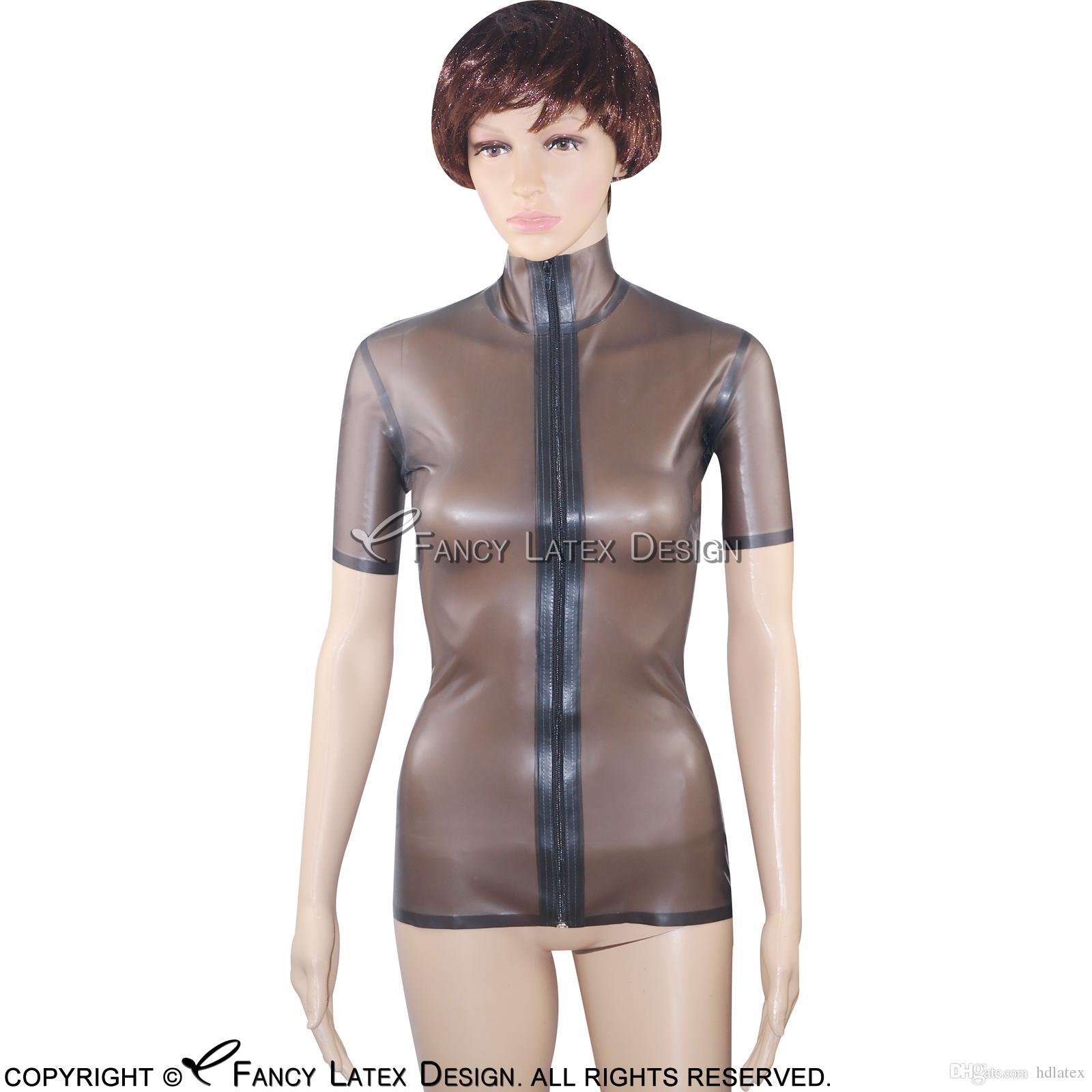 black latex Transparent