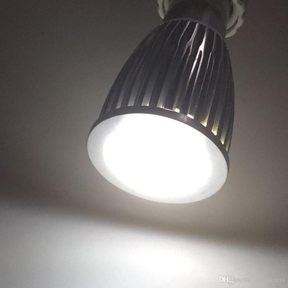 Best Quality LED COB Spot Light MR16 GU5.3 GU10 B22 E14 E27 Dimmable 6W 9W 12W AC 110V -240V LED Spotlights Energy Saving Bulbs CE RoHS