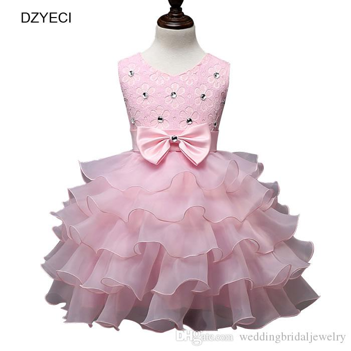 863944573 Elegant Dresses For Baby Girl Prom Costume Carnaval Summer Kid Bow ...