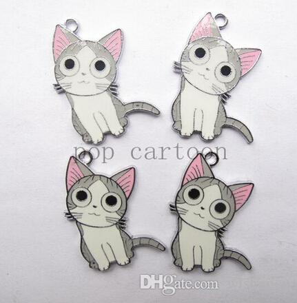 2018 new cat charm pendants jewelry making party gifts xtie29074 from wishopcn 0 25 dhgate com