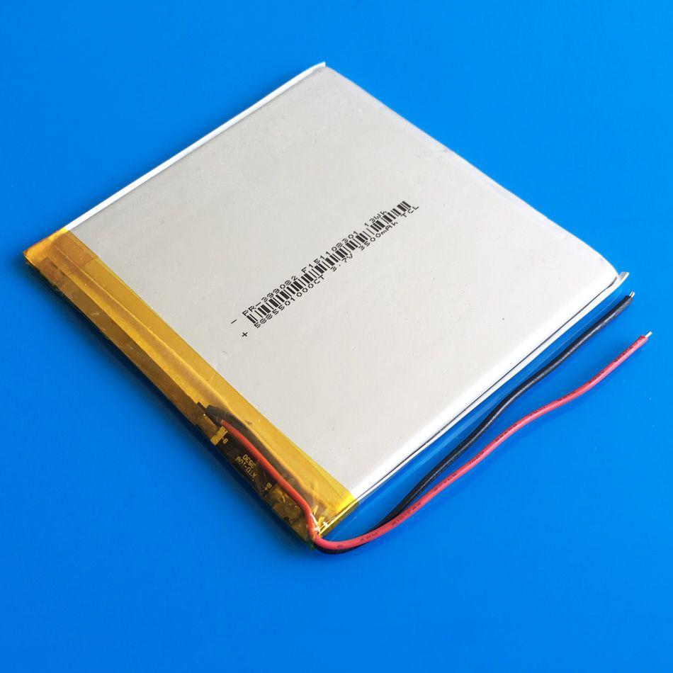 Модель 399082 3.7 V 3500mAh литий-полимерный Li-Po аккумуляторная батарея для DVD PAD мобильный телефон GPS Power bank камеры электронные книги Recoder TV box