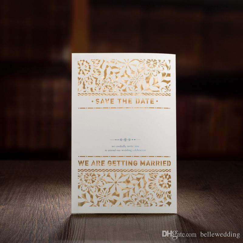 Laser Cut Wedding Invitations Free Printing Wedding Invitation ...
