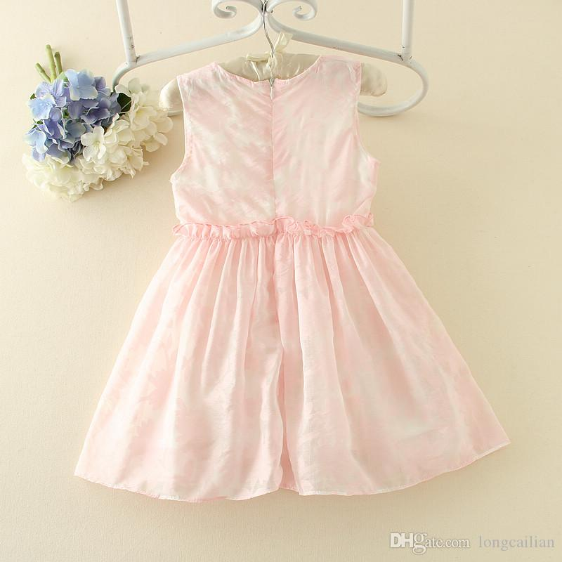 7e1d1414d701b 2017 Shionable Fashion Babies Party Dresses Children Design Frock For 5  Years Old Girl Kids Dress Princess Clothes Pink Dresses For Teenagers  Peplum Maxi ...