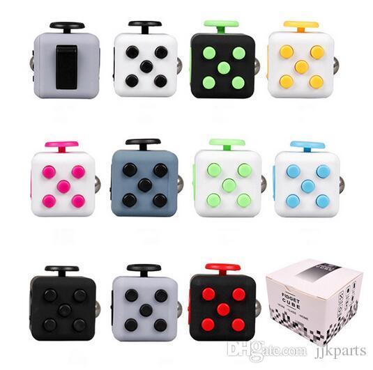 Desk Decompression Toy For Fidgeters Relieve Stress Anxiety Boredom All At Your Finger Tips Fidget Cube Gift For Adults Kids Stress Toy Stress Relievers ...