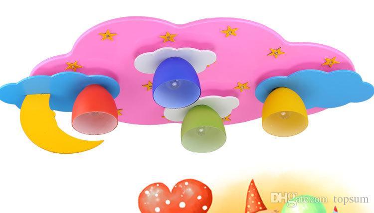 Plafoniere Da Bambino : Acquista l alta qualità blu rosa ha portato bambino cartone