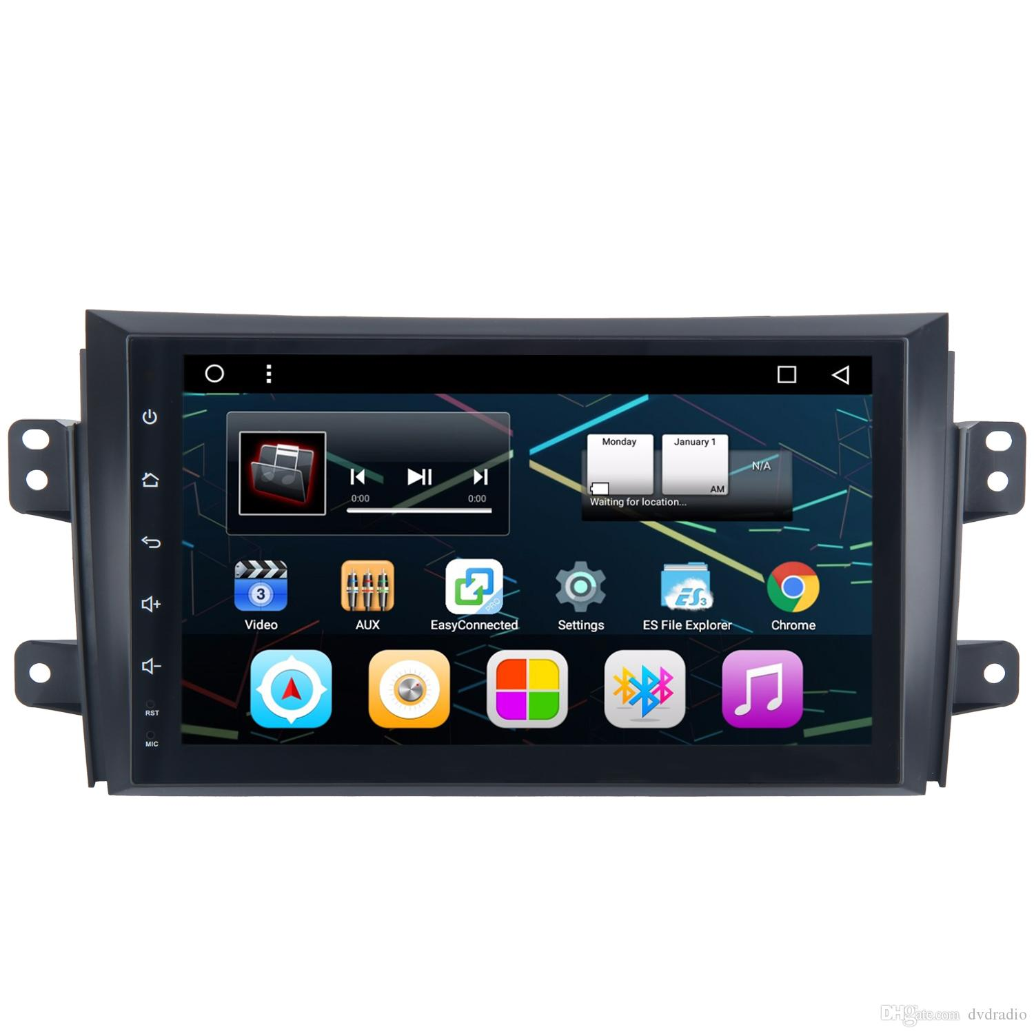 9 Android 6.0 Car GPS Navi Player For Suzuki SX4 With WIFI