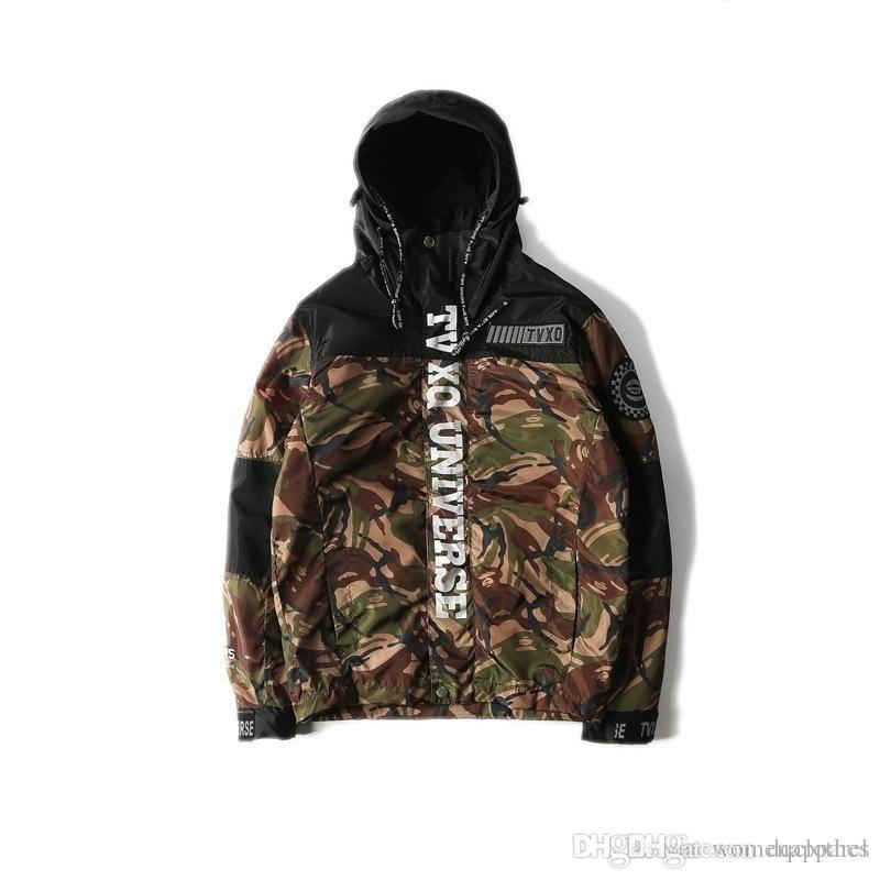 aa0e2337e8243 New Spring Summer Loves Camo Patchwork Hoodie Jacket Zipper Cardigan ...