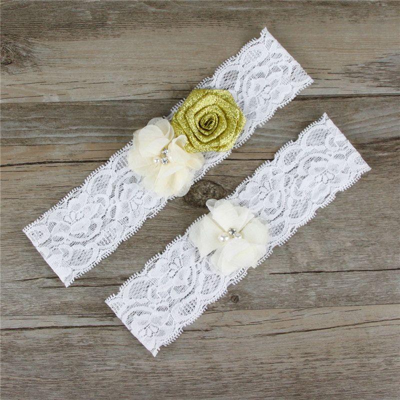 Original handmade bead plate flower wedding bridal gowns wedding Accessories Sexy Lingerie Leg Foot Ring Loops Laciness Lace Garter Belt TH0