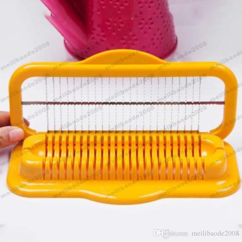 Cortador de Hot Dog de acero inoxidable creativo Slicer Safe Machine Utensilios de cocina Salchicha envío gratis MYY