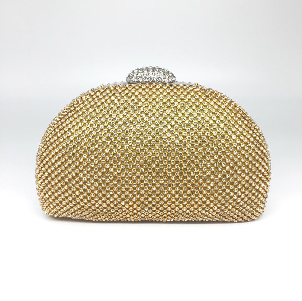 Rhinestones Women Clutch Bags 2017 New Shiny Rhinestones Women Evening Bags Full Diamonds Wedding Party Ladies Shoulder Handbags