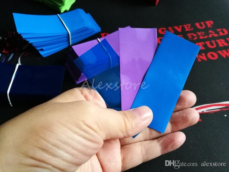 18650 20700 14500 26650 32650 batterie PVC Autocollant De Peau Enveloppe De Rêve Enveloppement Manches Thermorétractables Re-wrapping pour Batteries Enrobeuse Vaper DHL