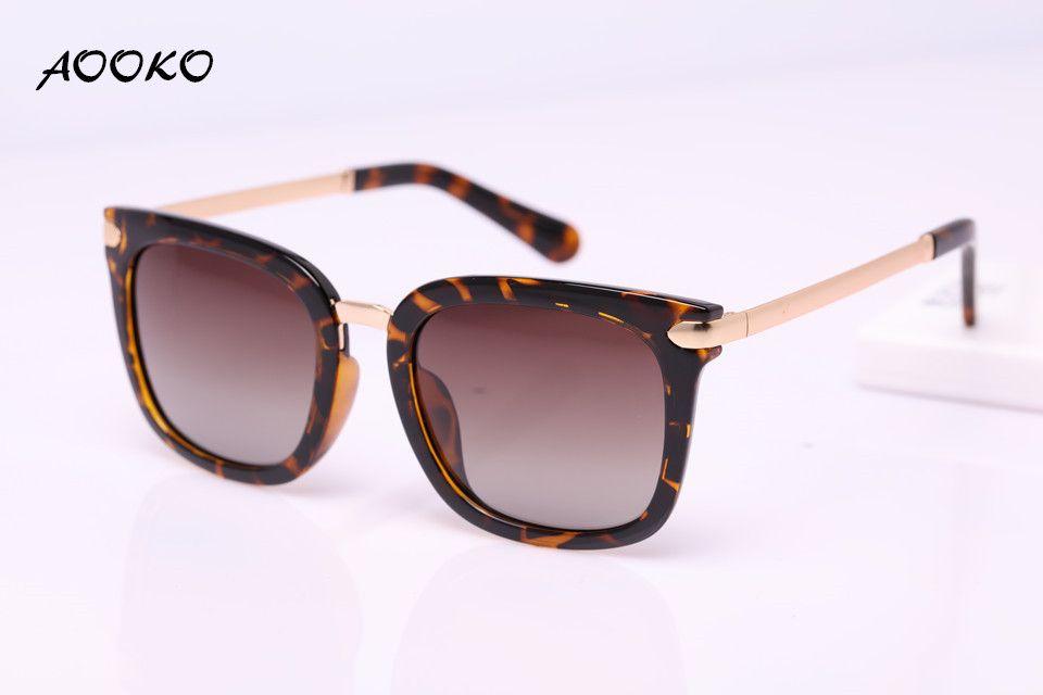 13abd5ac9ac AOOKO AK7934 UV Protection Sunglasses Women Vintage Oversized Female ...