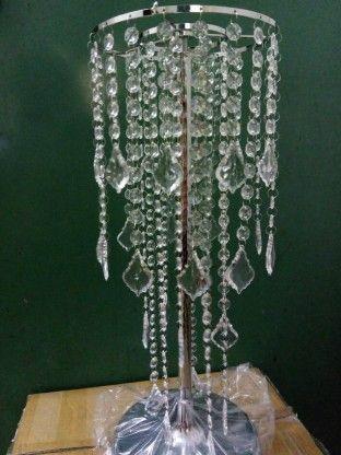 Crystal wedding Chandelier flower floral stand Candelabra,wedding table candelabra centerpiece table decorations1