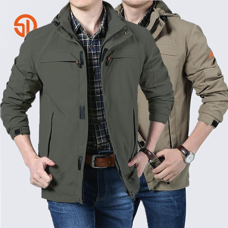 Korean Young Men Jacket 2018 Autumn New Style Name Brand Jacket Men