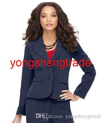 Latest Women Suit Custom Women Suits Navy Women Suit Pant Suits 705