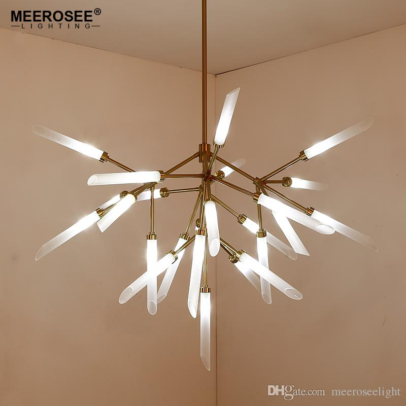 Compre Moderno LED Lámpara De Techo Colgante Para Comedor Salón ...