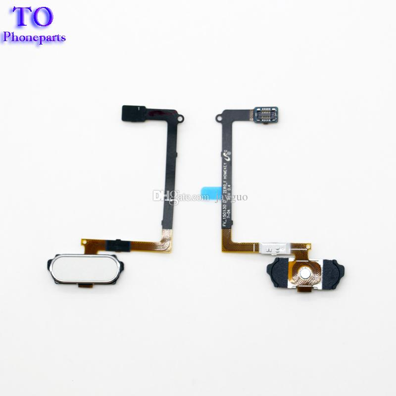 Home Button Fingerprint Sensor Repair Flex Cable For samsung galaxy S6 G920 G920F S6 Edge G925FAssembly Spare Part Replacement