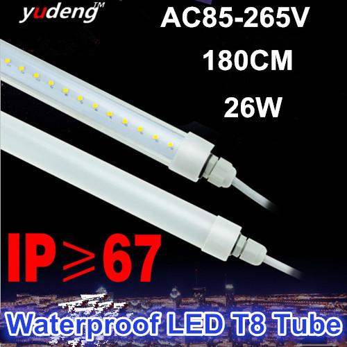 Waterproof led t8 tube light for outdoor lighting single end wired waterproof led t8 tube light for outdoor lighting single end wired powered connectionip67 for outdoorcoolerfreezer and damp occasions aloadofball Gallery