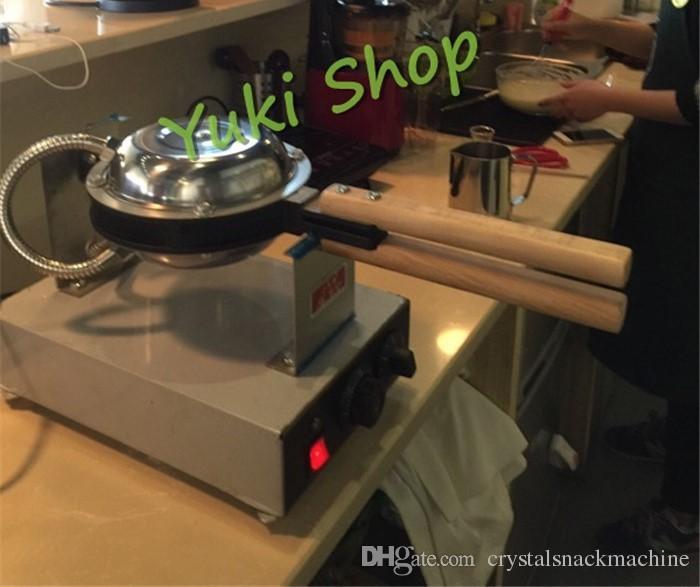 Máquina de la galleta del huevo de la máquina de la galleta del huevo del fabricante comercial de la galleta del huevo para la máquina popular de la comida del bocado de la venta