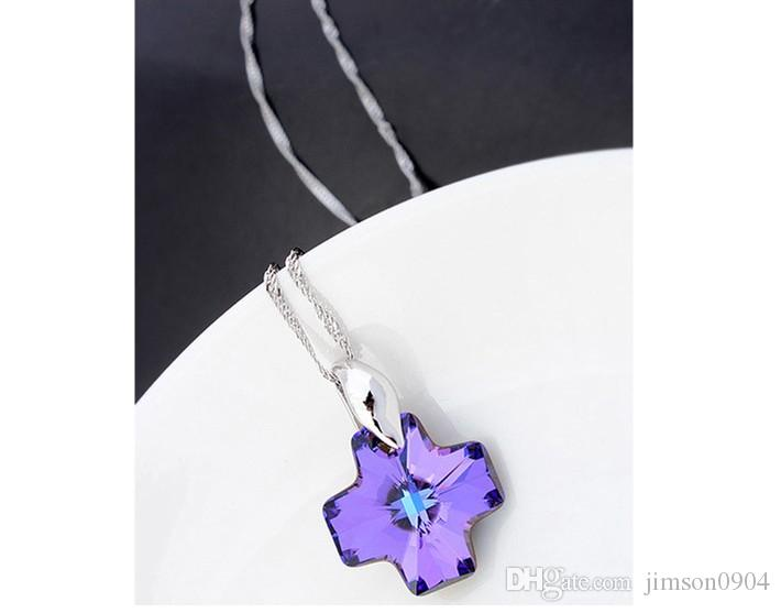 2017 new A genuine using SWAROVSKI Elements Crystal Necklace -- pray for high-end jewelry wholesale manufacturers sale