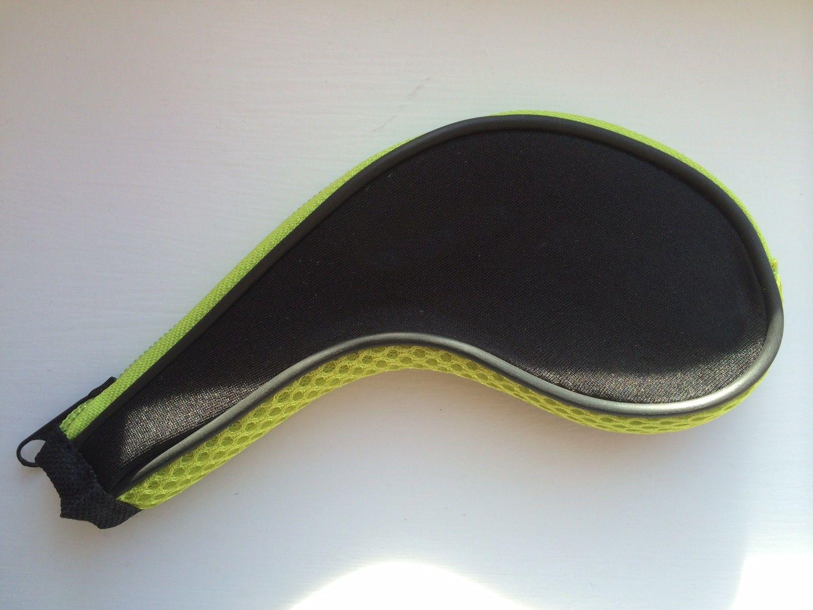 Golf-Abdeckung des langen Reißverschlusses des Golfs Soem-Golf Headcover jedes mögliches Logo kann gedruckt werden