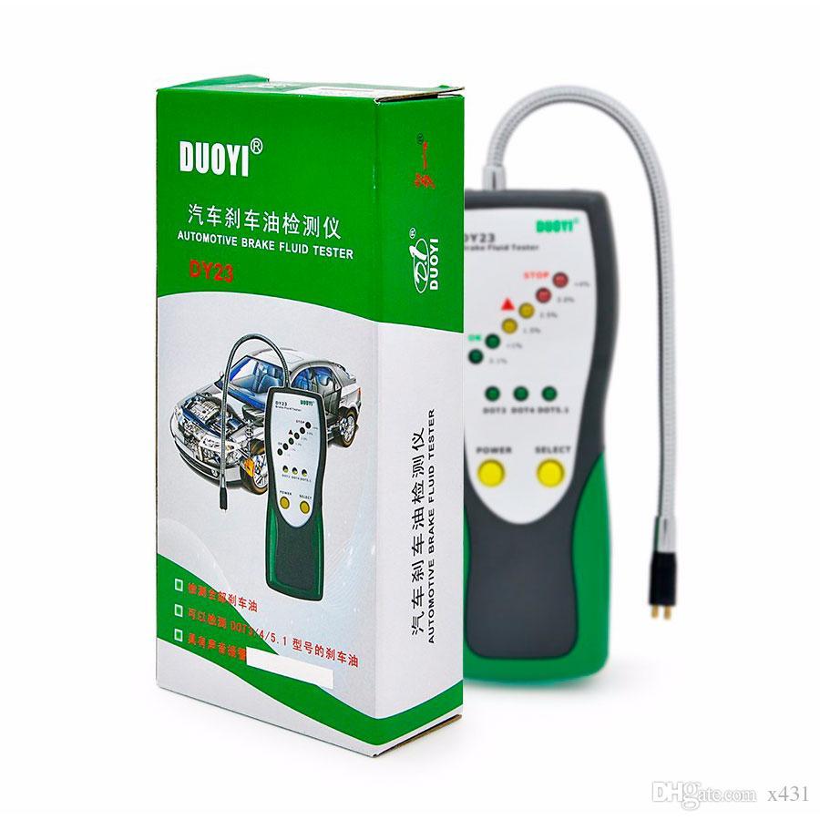 New Arrival Duoyi DY23 Automotive Brake Fluid Tester Digital Brake Fluid Inspection for DOT3 DOT4 DOT5.1 Car Diagnostic Tool