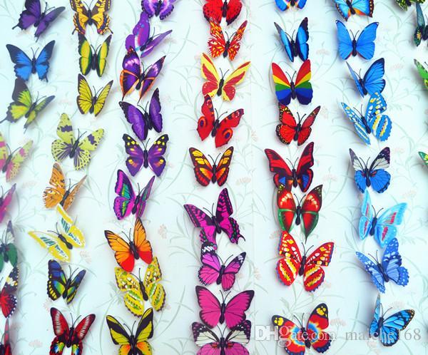 Atacado imã de geladeira imã de borboleta