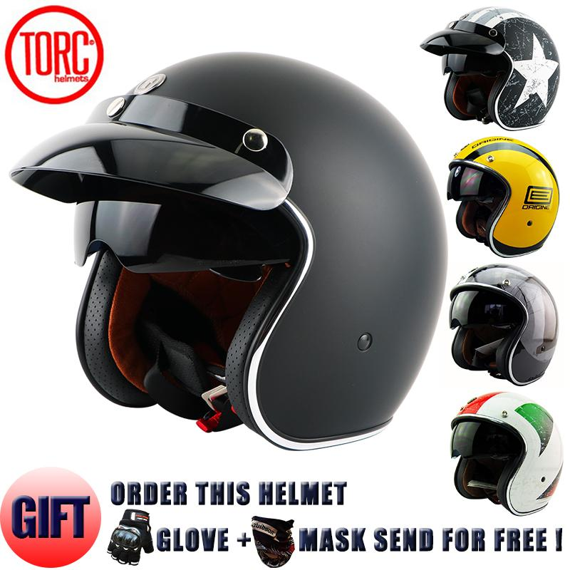 Wholesale Torc Moto Helmet Casco Capacetes Vintage Motorcycle Helmets Cafe Racer Scooter T 57 China For