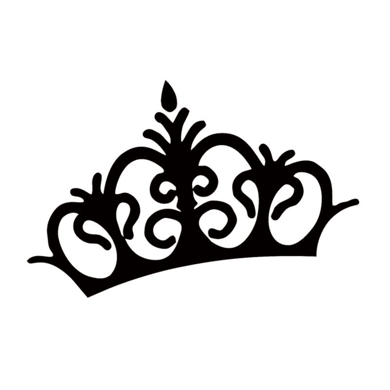 Online cheap crown princess queen king cute funny car styling vinyl decal sticker jdm car window motorcycle jdm by langru1003 dhgate com