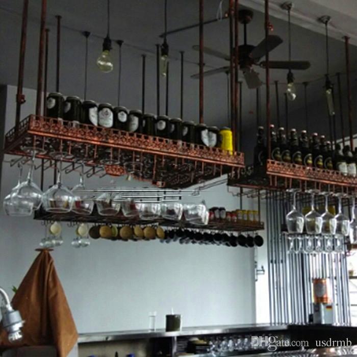 Best 60 35cm Fashion Bar Red Wine Goblet Glass Hanger