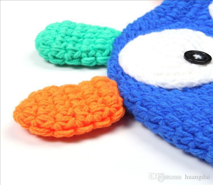 5 Style options Toddler Owl Ear Flap Crochet Hat Children Handmade Crochet OWL Beanie Hat Beanie Kids Hand Knitted Hat