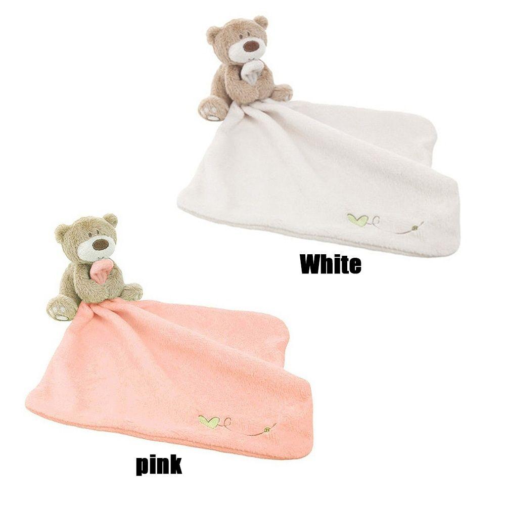 Love so much bear blankie development soft baby Bibs Towel toy newborn gift