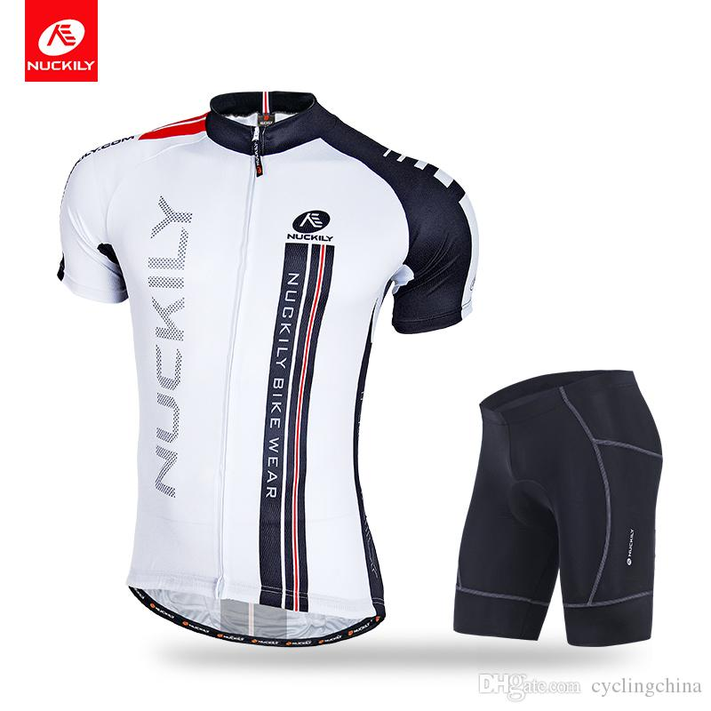 NUCKILY Men S Summer Polyester Cycling Jersey And Nylon Flat Lock Stitching  Gel Padding Short Set NJ503 NS361 Bicycle Shirts Cycle Clothes From  Cyclingchina ... d49d74125