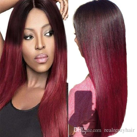 Colored hair extensions red online colored hair extensions red passion ombre straight hair bundles colored 1b 99j brazilian malaysian peruvian virgin hair ombre red wine human hair extensions 4pieces lot pmusecretfo Choice Image