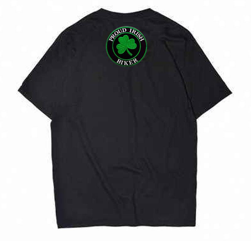 Punti ricamo all'ingrosso Proud IRISH Biker Patch Usa ferro Sew On Jacket Back e Difference T-shit o Hat Bag