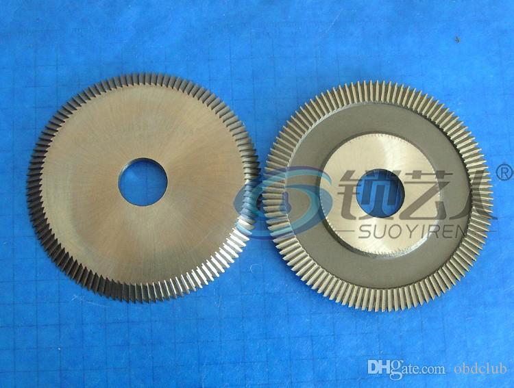 Original Raise High speed steel double angle cutter -0014J horizontal milling cutter for Wenxing key machine 100G2,217 locksmith