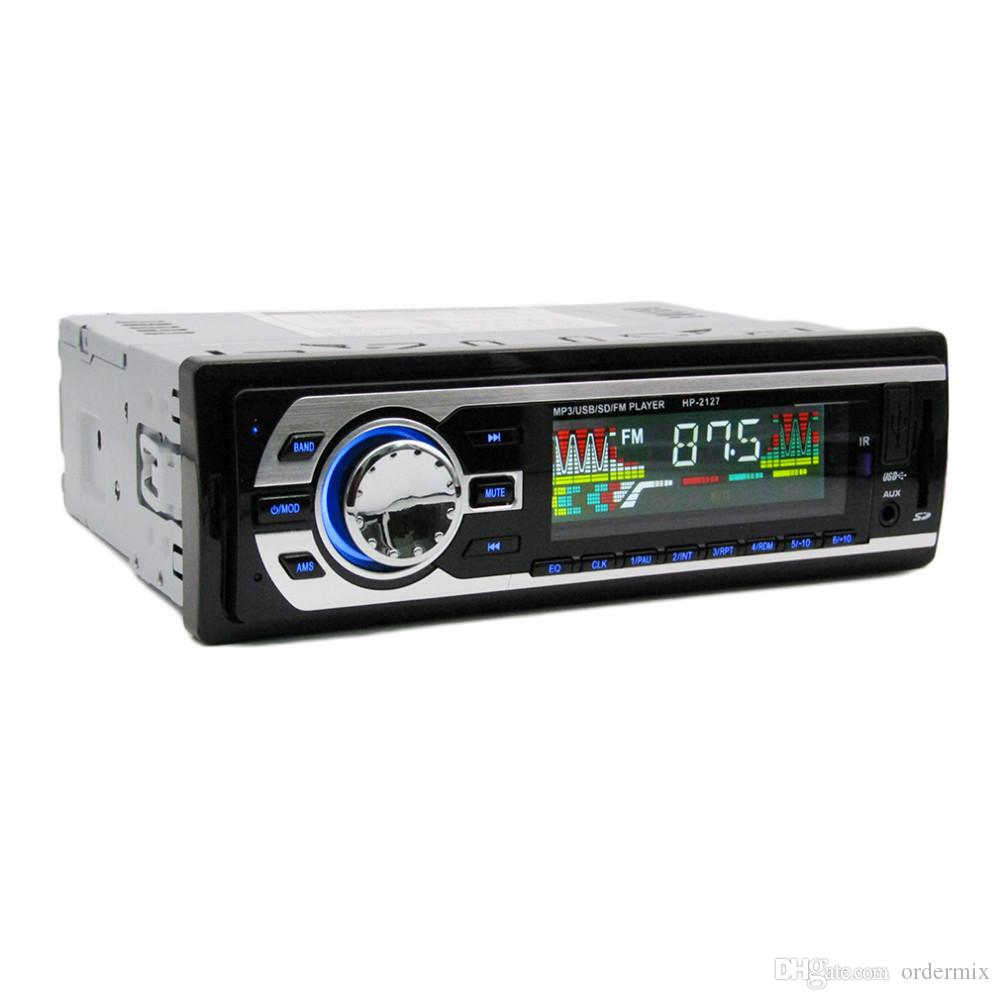 Car MP3 Player/LCD Display/ 7388 IC /12V /HP-2127 Car Radio MP3 Genuine Support USB/SD/MMC Memory Card /FM/WMA/Remote