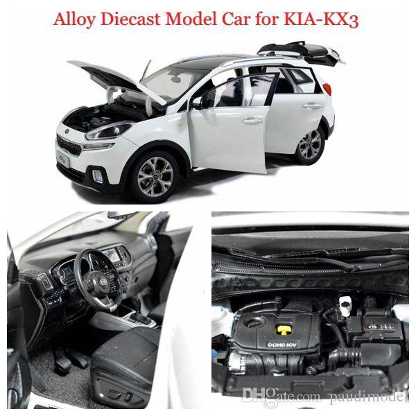 Big Sale Brand New Diecast Model Car Of Kia Kx3 White 1 18 Scale