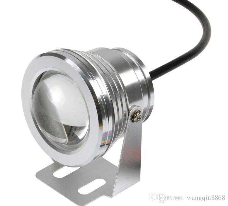 RGB 10W 12V LED Underwater Fountain Light Waterproof IP65 Outdoor Lighting Floodlight Focos led piscina Lamp Lights