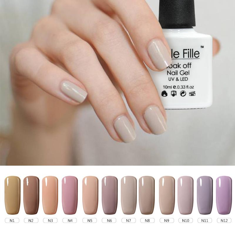 Wholesale Nude Color Style Can Choose 10ml Need Base And Top Coat ...