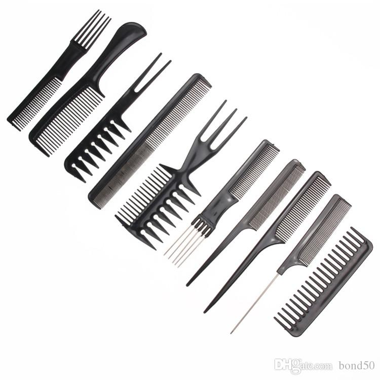 hairdressing combs Womens Hair Comb Make Up Comb Professional Comb Anti-static Hair Brush Set hairdressing brush hair