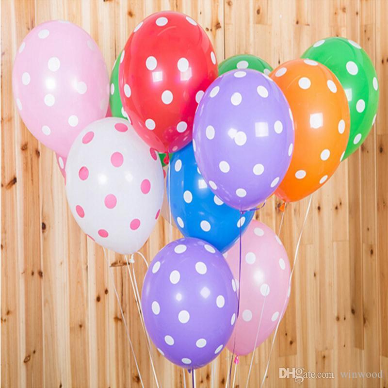 Grosshandel 12 Zoll Latex Ballon Kinder Party Dekoration
