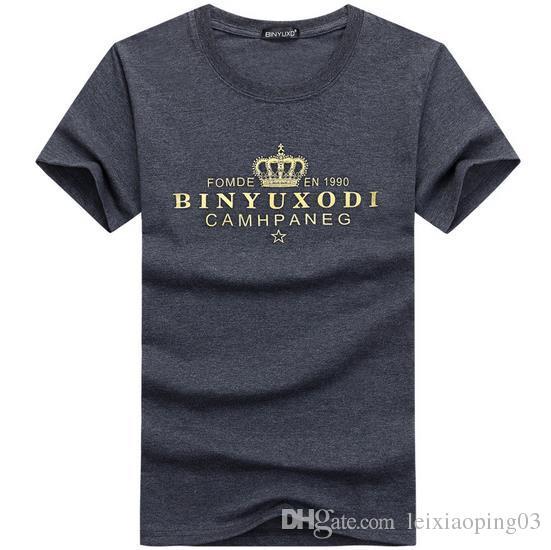 Verão mens roupas de marca de moda t shirt da aptidão muscular masculino manga curta de algodão fino tee encabeça vestuário