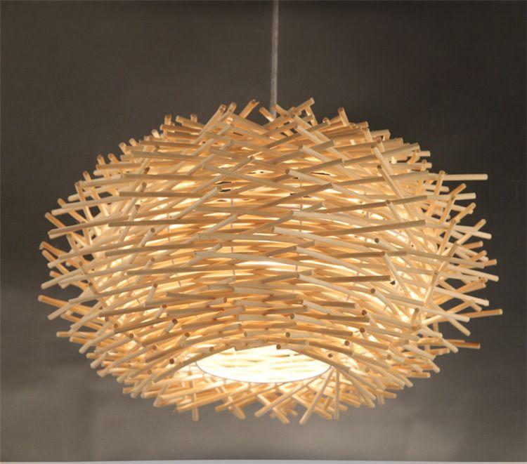 Neuheit Nordic Lampe Kreative Holz Anh Nger