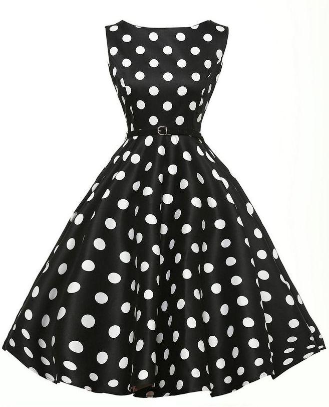 2017 Women'S 60s 50s Dress Elegant Vintage