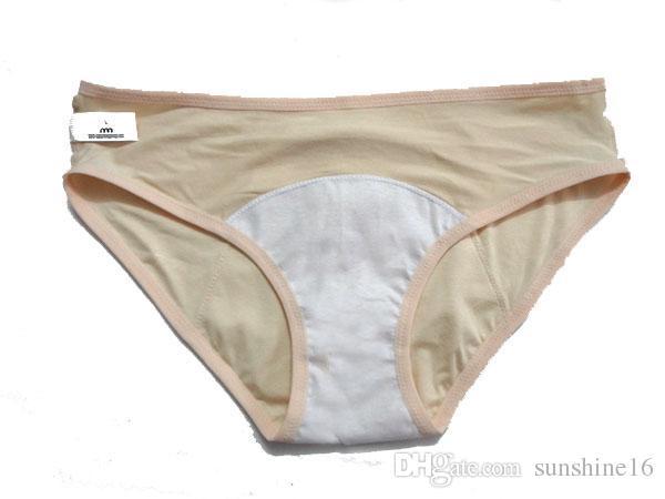 XL / XXL / XXXL Artı Boyutu kadın Dönemi Kaçak Geçirmez Iç Çamaşırı Regl Külot Inkontinans Külot Pijama Külot Modal Giyim Giyim