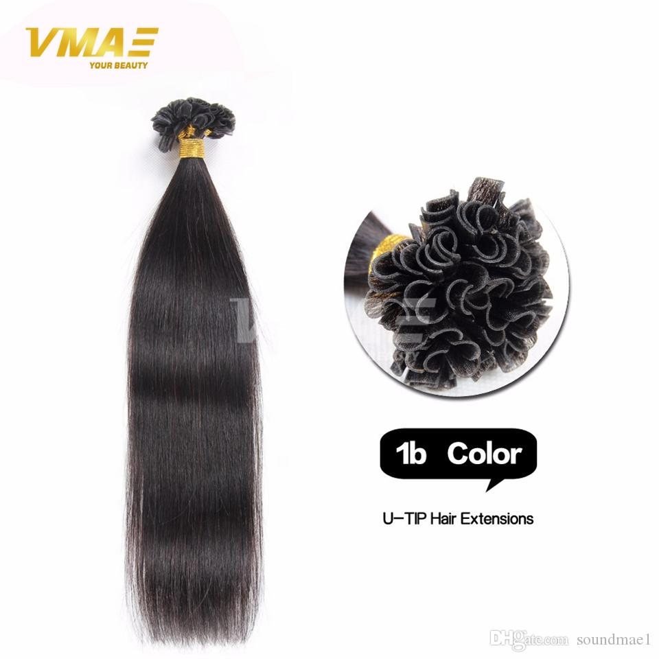 U Tip Hair Extension Human Hair Extensions Strand Remy Fusion Hair