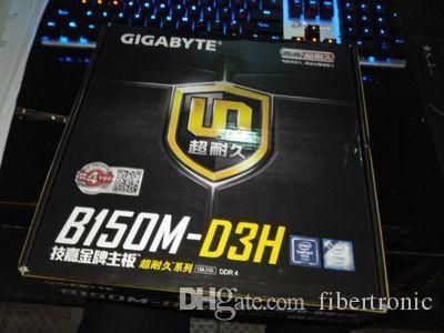 Настольные в150 материнских плат LGA1151 для гигабайт B150M-D3H примечательна поддержка G4560 и3-6100/6500/7700 с i7 процессор 6700K памяти DDR4 М. 2 габариты платы с USB3, DVI и HDMI для VGA