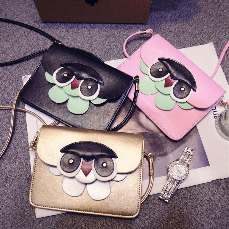 Summer New Hit Color Cartoon Handbags Mini Mobile Phone Bag - Cartoon handbags