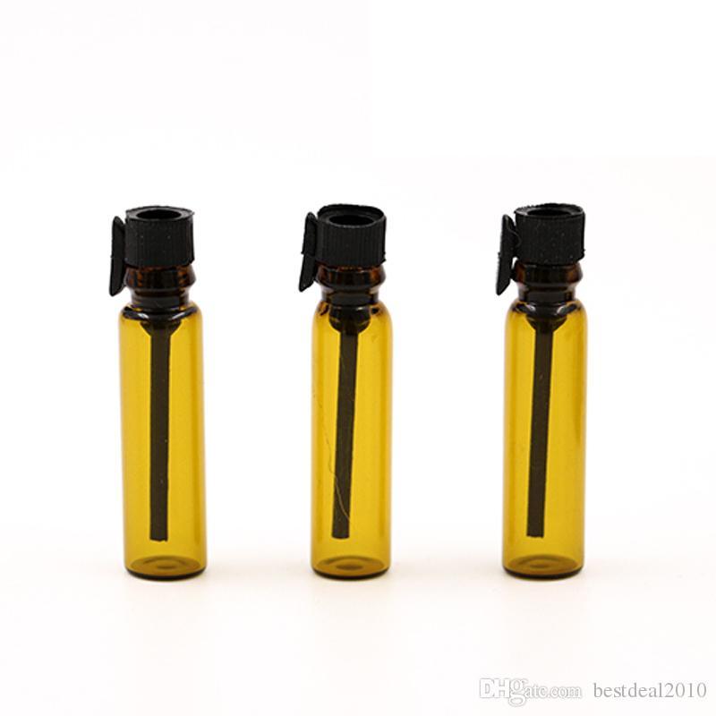 갈색 1ml 1CC 2ml 2CC 미니 여행 유리 향수 병 에센셜 오일 빈 Contenitori 화장품 Vuoti 샘플